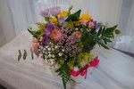 caja con flor natural